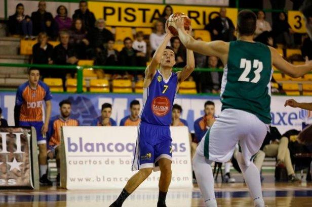 Ourense. 10-12-16. Deportes. Cob B na categoría EBA.Foto: Xesús Fariñas