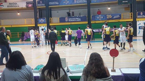 Guadalajara vs Casvi (Foto Guadalajara Basket)