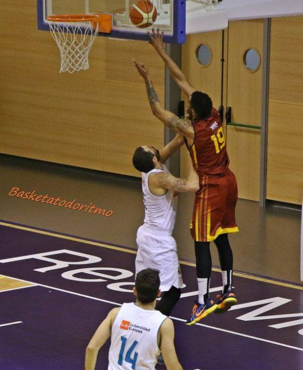 Real Madrid vs Alcobendas (Foto Basketatodoritmo)