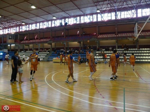 Aridane vs Conejero (Foto CB Aridane)
