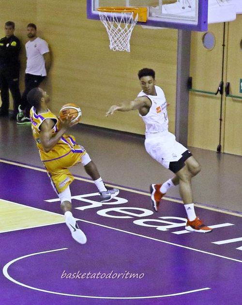 RMadrid vs Aridane (Foto Basket a todo ritmo)
