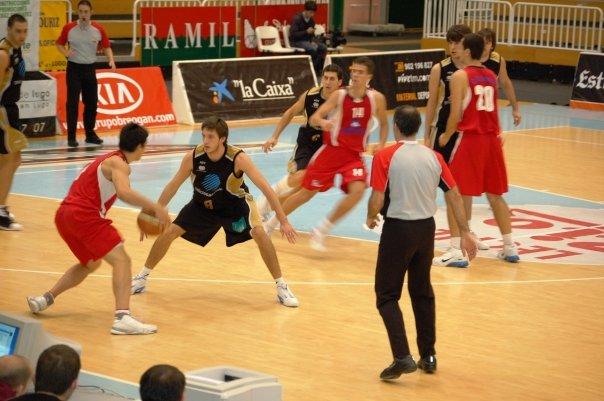Ya como jugador de Estudiantes Lugo
