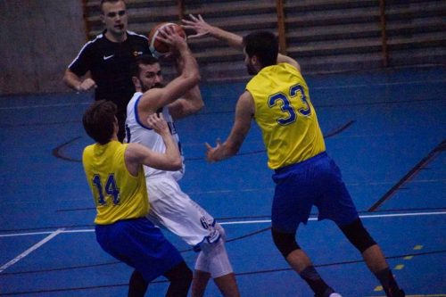 Estudio vs Náutico (Foto Basketmanía)