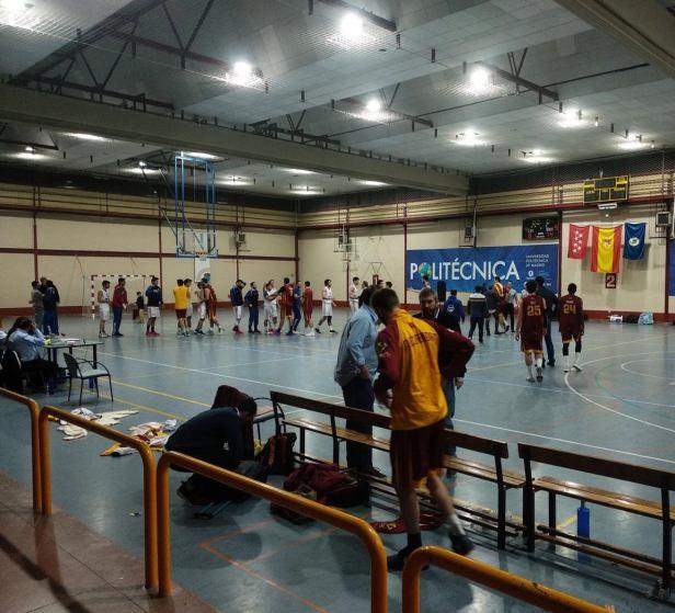 Liceo vs Alcobendas (Foto Alcobendas)