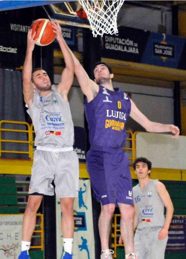 Guada vs Casvi (Foto Guadalajara Basket)
