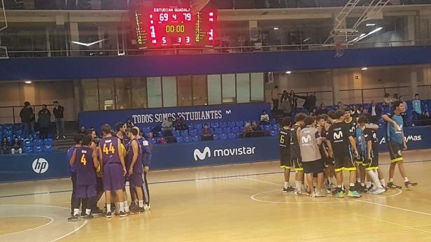 Estu vs Guadalajara (Foto Guadalajara Basket)
